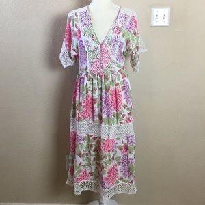 ASOS Pretty Spring/Summer Trend Peasant Dress
